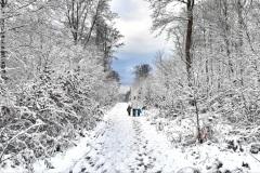 Schnee in Weisel - 4. Februar 2021