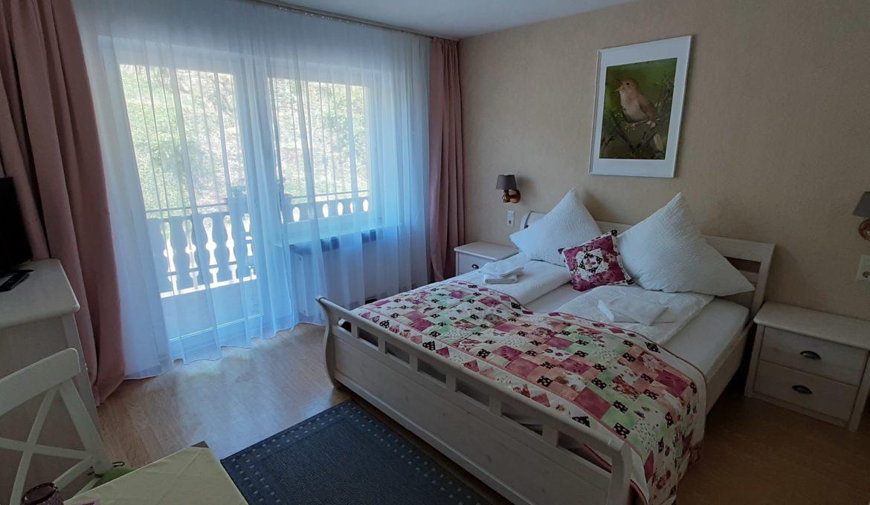 Doppelzimmer mit Balkon »Nachtigall«
