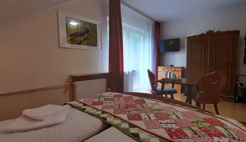 Doppelzimmer mit Balkon »Kuckuck«