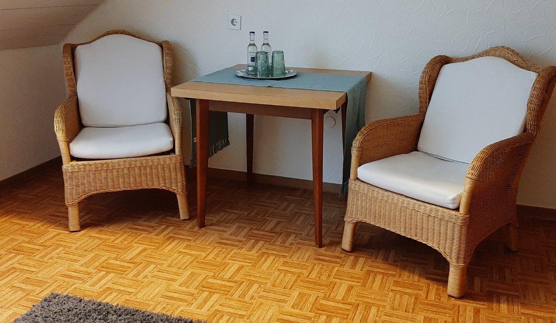 Doppelzimmer mit Vollbad »Neuntöter«